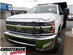 2016 Silverado 3500 Crew Cab 4x4, Dump Body #61252 - photo 1