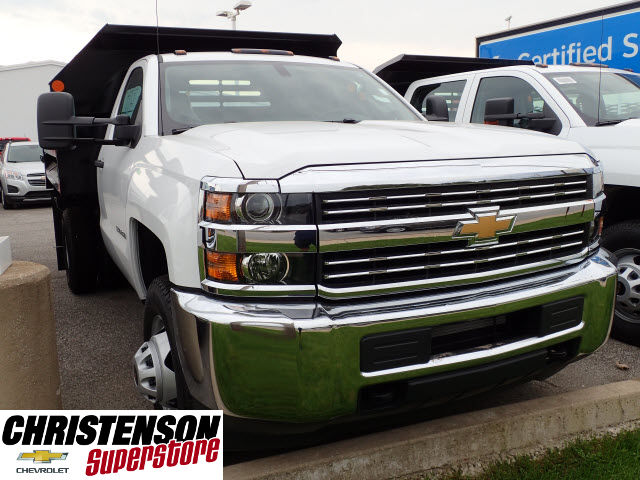 2016 Silverado 3500 Regular Cab 4x4, Dump Body #61457 - photo 3