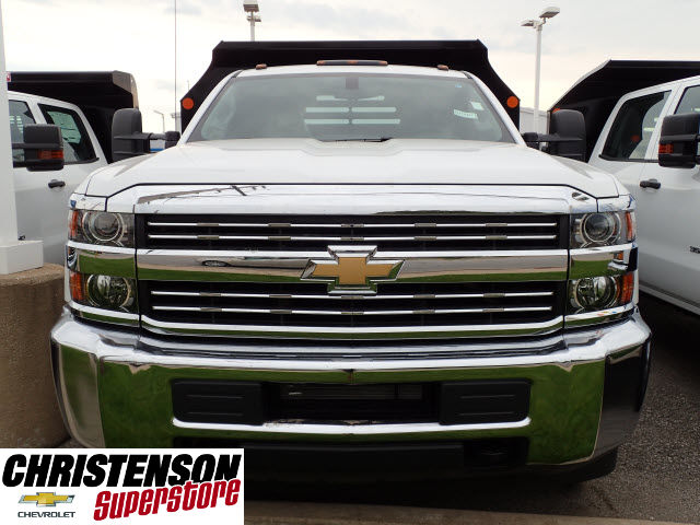 2016 Silverado 3500 Regular Cab 4x4, Dump Body #61457 - photo 4