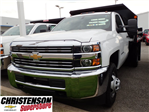 2016 Silverado 3500 Regular Cab 4x4, Dump Body #61457 - photo 1