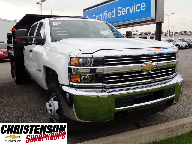 2016 Silverado 3500 Crew Cab 4x4, Dump Body #61484 - photo 3