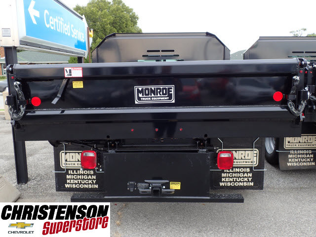 2016 Silverado 3500 Crew Cab 4x4, Dump Body #61484 - photo 5