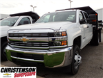 2016 Silverado 3500 Crew Cab 4x4, Dump Body #61484 - photo 1