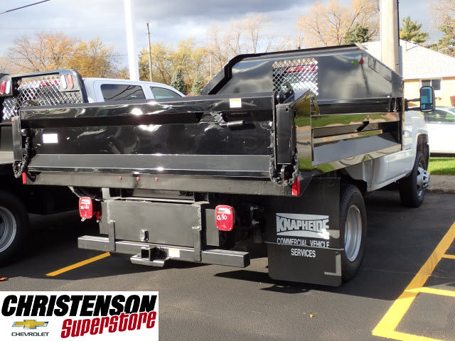 2016 Silverado 3500 Regular Cab 4x4, Knapheide Dump Body #61500 - photo 6