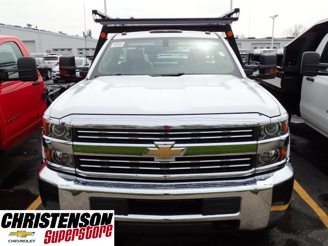2017 Silverado 3500 Regular Cab 4x4, Freedom Contractor Body #70490 - photo 4