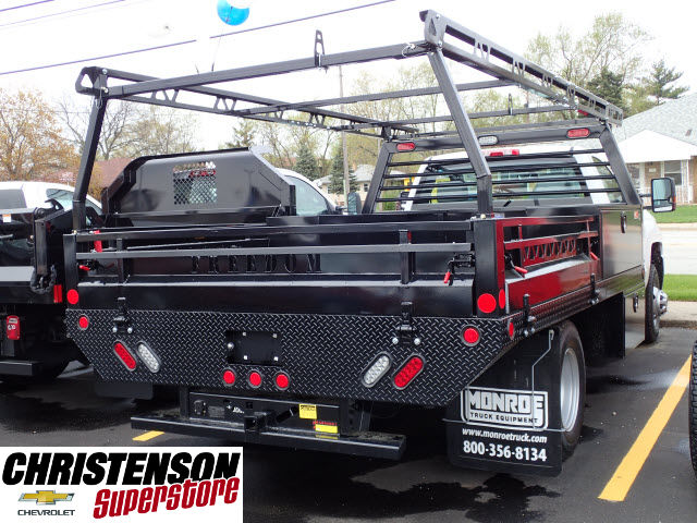 2017 Silverado 3500 Regular Cab 4x4, Freedom Contractor Body #70490 - photo 6