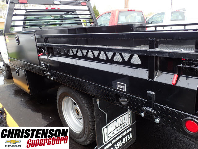 2017 Silverado 3500 Regular Cab 4x4, Freedom Contractor Body #70490 - photo 7