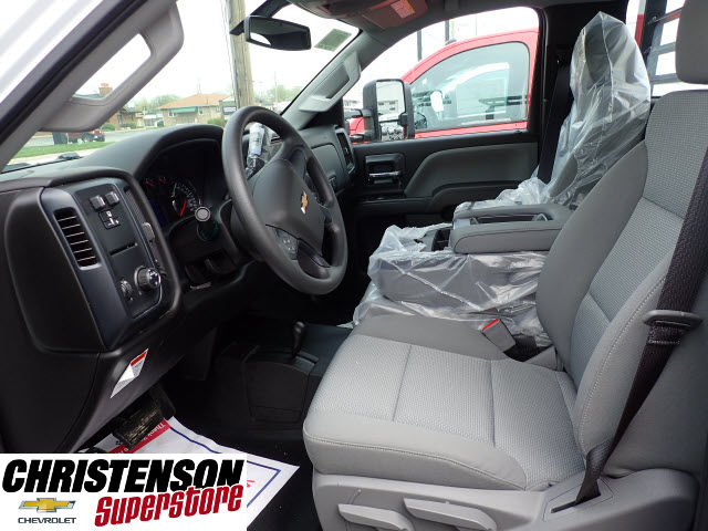 2017 Silverado 3500 Regular Cab 4x4, Freedom Contractor Body #70490 - photo 9