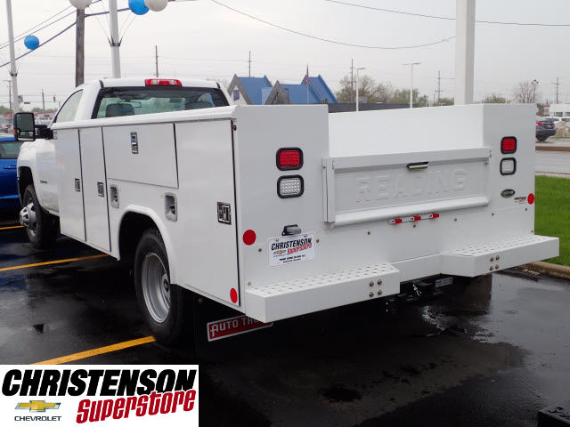 2017 Silverado 3500 Regular Cab 4x4, Reading Service Body #70666 - photo 2