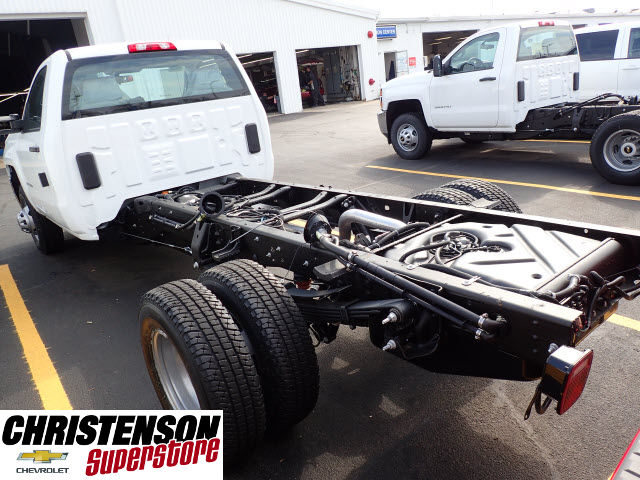 2017 Silverado 3500 Regular Cab DRW 4x4 Cab Chassis #70677 - photo 2