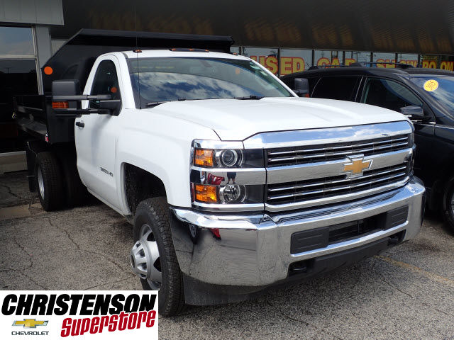2017 Silverado 3500 Regular Cab, Monroe Dump Body #70715 - photo 3