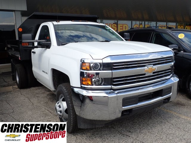 2017 Silverado 3500 Regular Cab DRW, Monroe MTE-Zee Dump Dump Body #70715 - photo 3