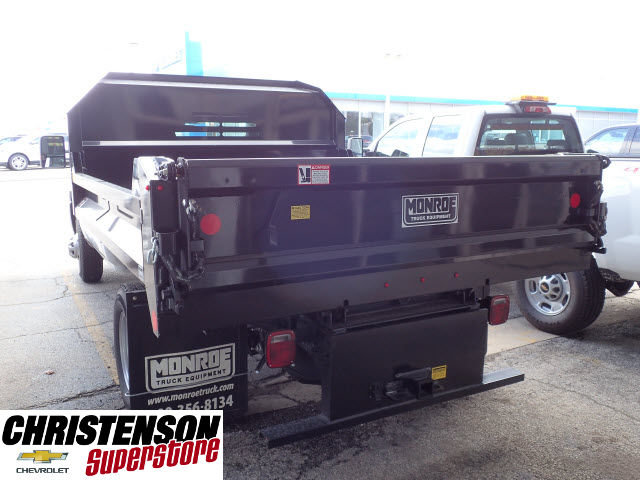2017 Silverado 3500 Regular Cab, Monroe Dump Body #70715 - photo 2