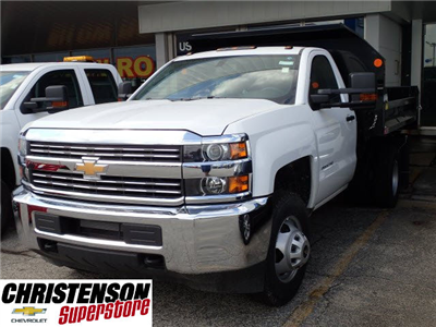 2017 Silverado 3500 Regular Cab DRW, Monroe MTE-Zee Dump Dump Body #70715 - photo 1