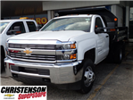 2017 Silverado 3500 Regular Cab, Monroe Dump Body #70715 - photo 1