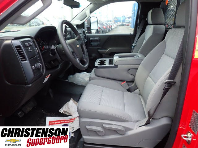 2017 Silverado 3500 Regular Cab DRW, Monroe Work-A-Hauler II Platform Stake Bed #70723 - photo 9