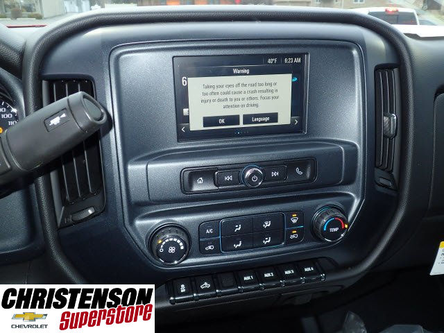 2017 Silverado 3500 Regular Cab DRW, Monroe Work-A-Hauler II Platform Stake Bed #70723 - photo 10