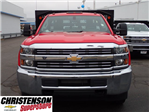 2017 Silverado 3500 Regular Cab DRW, Monroe Work-A-Hauler II Platform Stake Bed #70723 - photo 4
