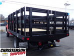 2017 Silverado 3500 Regular Cab DRW, Monroe Work-A-Hauler II Platform Stake Bed #70723 - photo 2