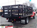2017 Silverado 3500 Regular Cab DRW, Monroe Work-A-Hauler II Platform Stake Bed #70723 - photo 6