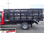 2017 Silverado 3500 Regular Cab DRW, Monroe Work-A-Hauler II Platform Stake Bed #70723 - photo 7