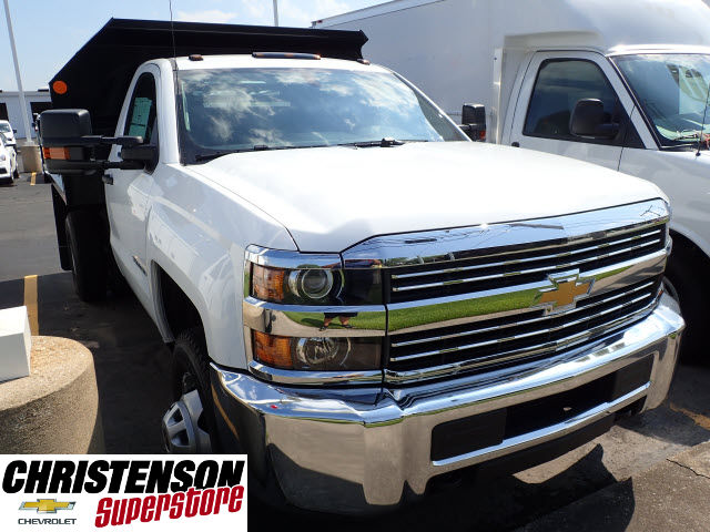 2017 Silverado 3500 Regular Cab 4x4, Monroe Dump Body #70833 - photo 3