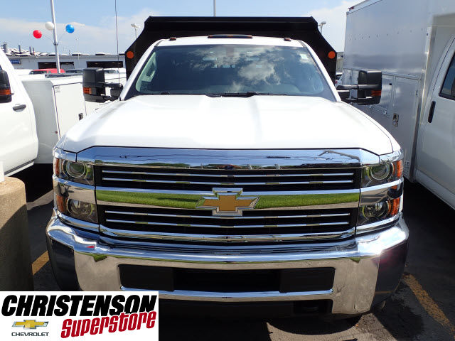 2017 Silverado 3500 Regular Cab 4x4, Monroe Dump Body #70833 - photo 4