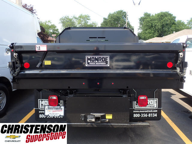 2017 Silverado 3500 Regular Cab 4x4, Monroe Dump Body #70833 - photo 5