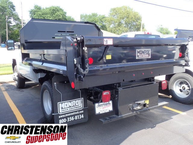 2017 Silverado 3500 Regular Cab DRW 4x4, Monroe MTE-Zee Dump Dump Body #70833 - photo 2