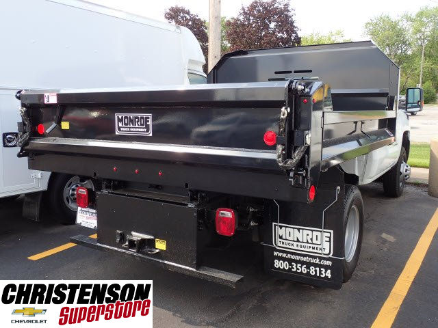 2017 Silverado 3500 Regular Cab DRW 4x4, Monroe MTE-Zee Dump Dump Body #70833 - photo 6