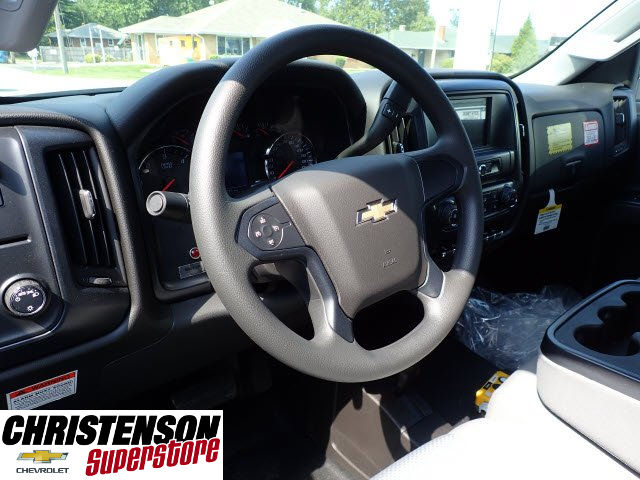 2017 Silverado 3500 Regular Cab DRW 4x4, Monroe MTE-Zee Dump Dump Body #70833 - photo 7