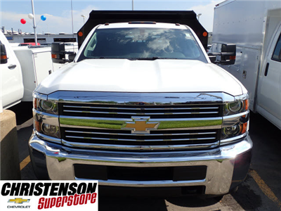 2017 Silverado 3500 Regular Cab DRW 4x4, Monroe MTE-Zee Dump Dump Body #70833 - photo 4