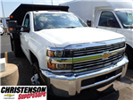 2017 Silverado 3500 Regular Cab DRW 4x4, Monroe MTE-Zee Dump Dump Body #70833 - photo 3