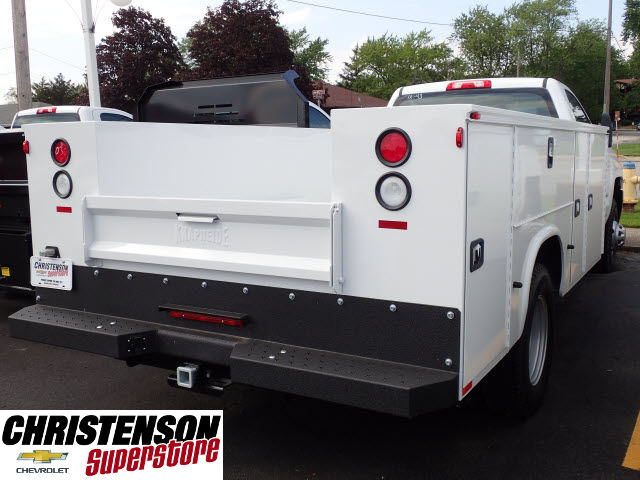 2017 Silverado 3500 Regular Cab 4x4, Knapheide Service Body #70848 - photo 6
