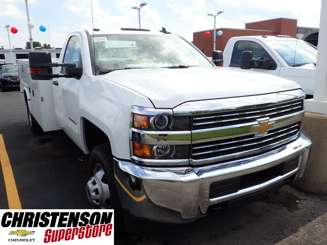 2017 Silverado 3500 Regular Cab 4x4, Knapheide Service Body #70849 - photo 3