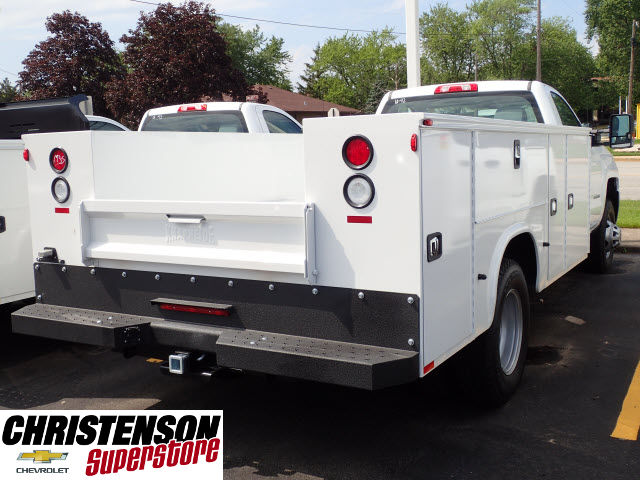 2017 Silverado 3500 Regular Cab 4x4, Knapheide Service Body #70849 - photo 6