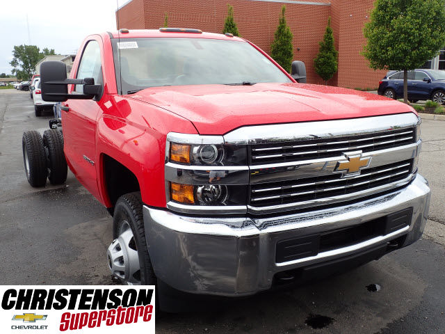 2017 Silverado 3500 Regular Cab DRW Cab Chassis #70855 - photo 3