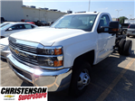 2017 Silverado 3500 Regular Cab DRW 4x4 Cab Chassis #70856 - photo 1