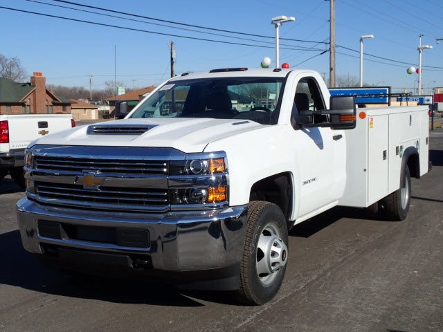 2018 Silverado 3500 Regular Cab DRW 4x4,  Monroe Service Body #80405 - photo 4