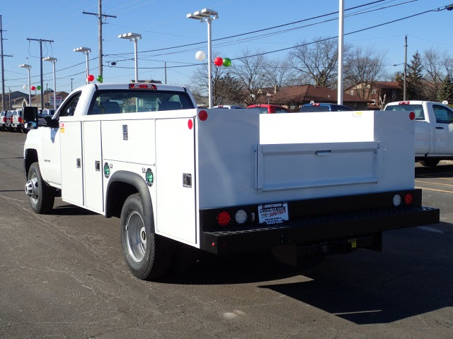 2018 Silverado 3500 Regular Cab DRW 4x4,  Monroe Service Body #80405 - photo 5