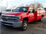2018 Silverado 3500 Regular Cab DRW 4x4,  Monroe MSS II Service Body #80696 - photo 4