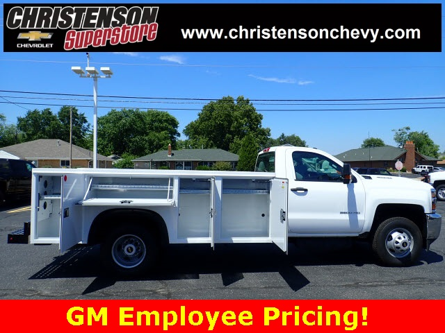 2018 Silverado 3500 Regular Cab DRW 4x4,  Monroe Service Body #81226 - photo 4
