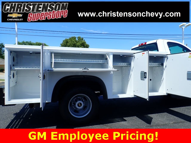 2018 Silverado 3500 Regular Cab DRW 4x4,  Monroe Service Body #81226 - photo 5