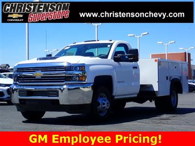 2018 Silverado 3500 Regular Cab DRW 4x4,  Monroe MSS II Welder Body #81227 - photo 1
