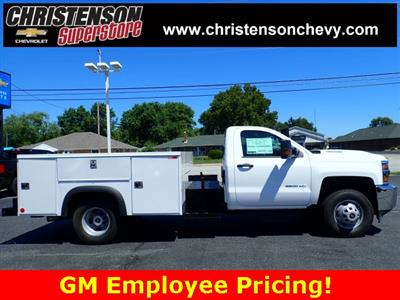 2018 Silverado 3500 Regular Cab DRW 4x4,  Monroe MSS II Welder Body #81227 - photo 4