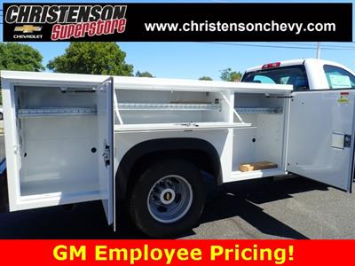 2018 Silverado 3500 Regular Cab DRW 4x4,  Monroe MSS II Welder Body #81227 - photo 5