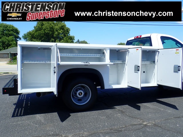 2018 Silverado 3500 Regular Cab DRW 4x4,  Monroe Service Body #81228 - photo 5