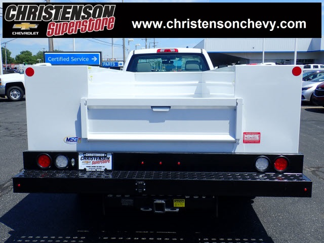 2018 Silverado 3500 Regular Cab DRW 4x4,  Monroe MSS II Service Body #81228 - photo 2