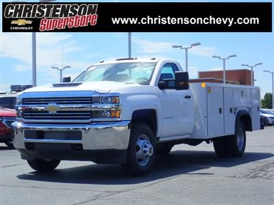 2018 Silverado 3500 Regular Cab DRW 4x4,  Monroe MSS II Service Body #81228 - photo 1