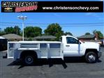 2018 Silverado 3500 Regular Cab DRW 4x4,  Monroe MSS II Service Body #81228 - photo 4